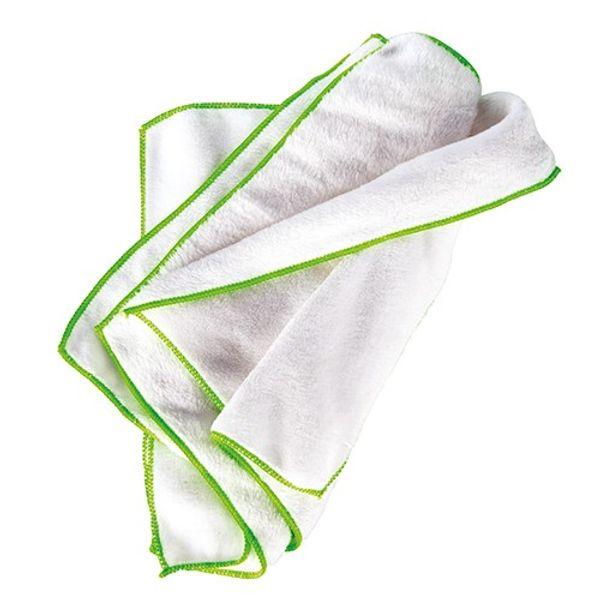 Mint Ultrasoft Microfibre White Towels (Pk.12 x 6)