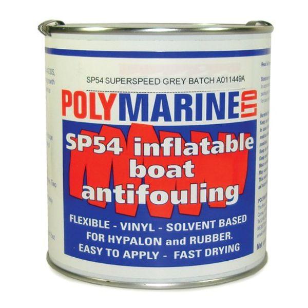 Polymarine SP54 Hypalon Antifoul Black 1L