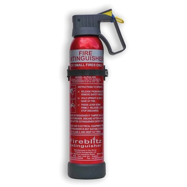 FIREBLITZ BETA 950g BC POWDER FIRE EXTINGUISHER | Aquafax