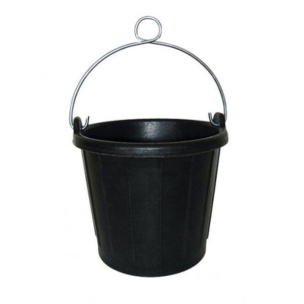 Plastimo Rubber Bucket Aluminium Handle 7.5L 23cm Dia