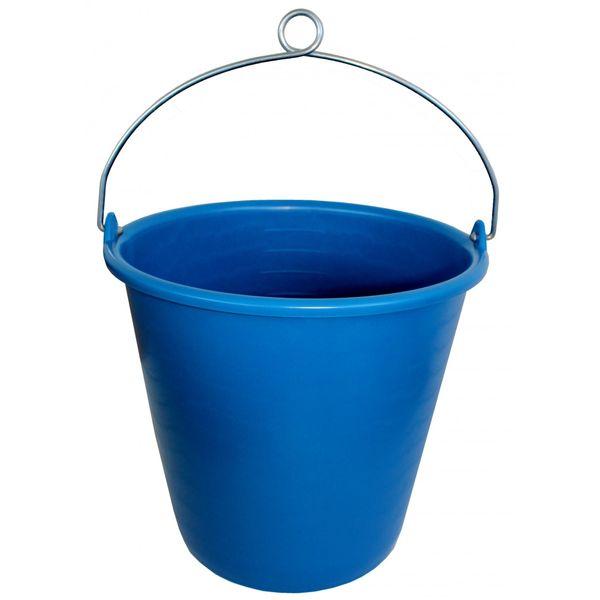 Plastimo Plastic Bucket 10L (No Rope) Blue