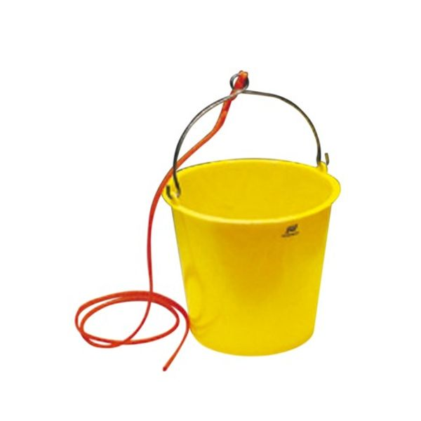 Plastimo Plastic Bucket 10L with Rope Blue (Pk.5)
